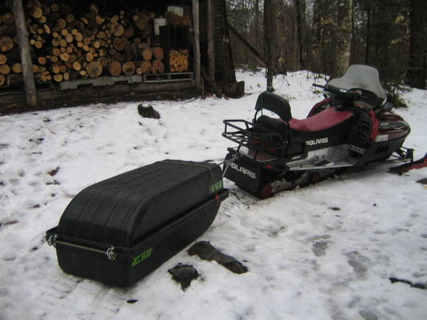 how to build a sled to pull behind a snowmobile